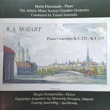 W. A. Mozart Piano Concertos K.V.271 K.V.453